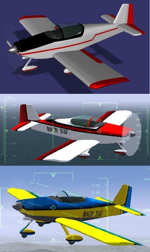 RV-6aのカラーリング