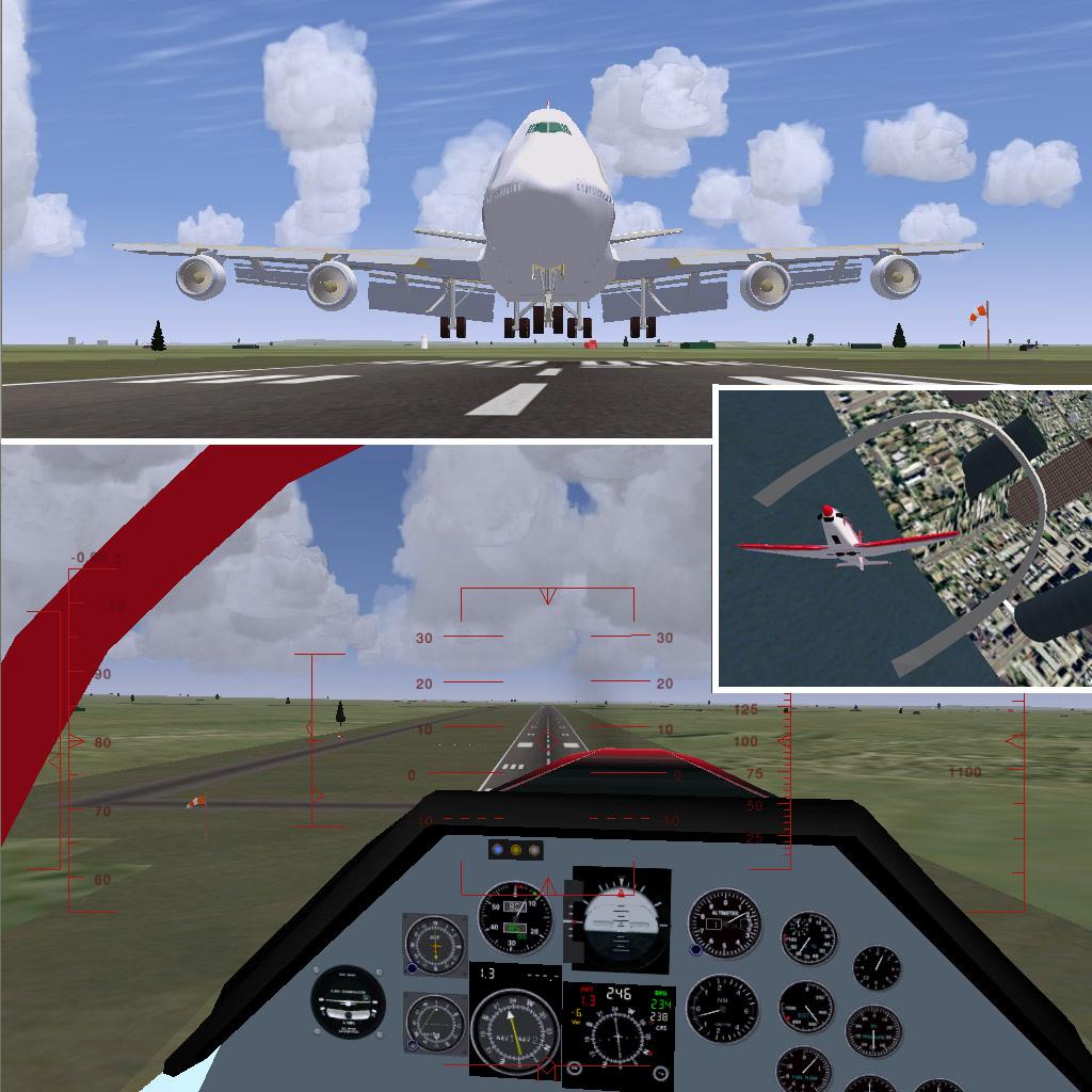747でも自動着陸
