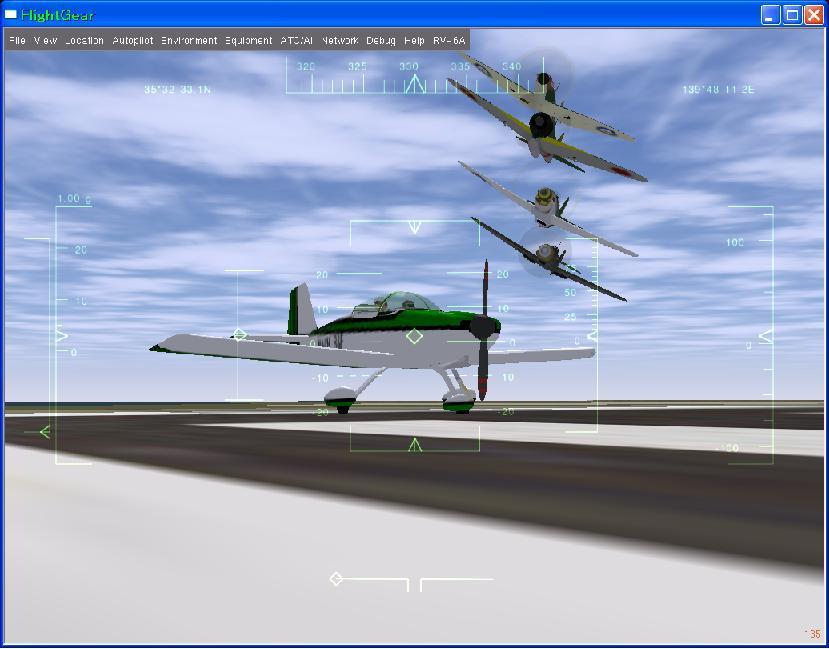 ww2機体のAI編隊飛行