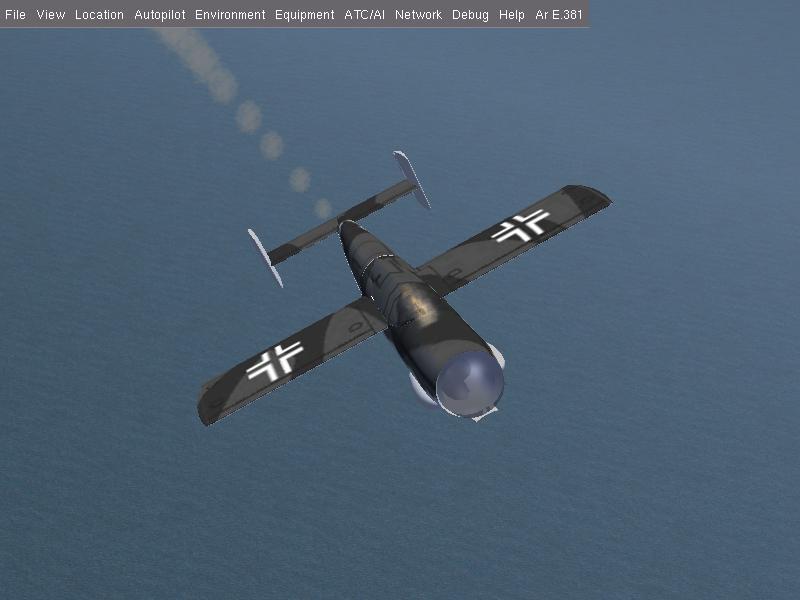 Arado Ar E.381をつくる