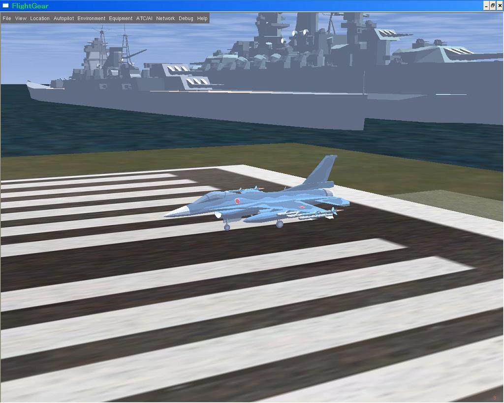 F-2A + 最上、大和 @ FGSF2.0.0