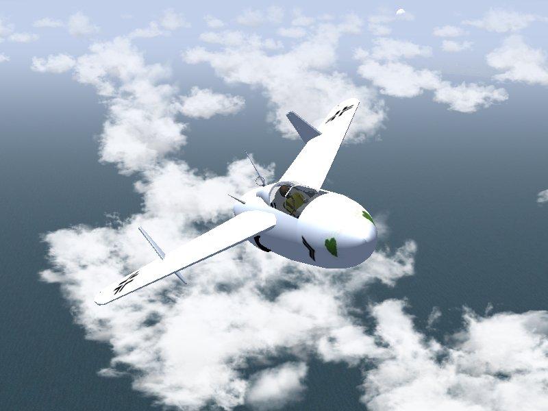 自作2機目はJunkers Ju EF128