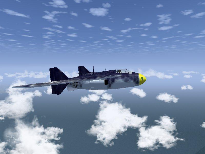自作2機目はJunkers Ju EF128(2)
