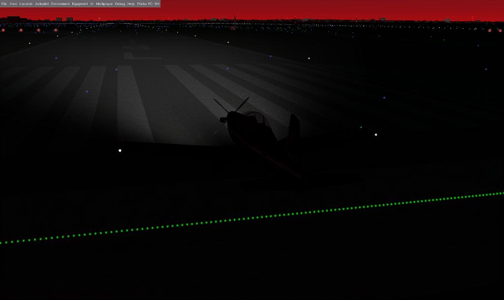 PC-9M Rembrandt ランディングライト