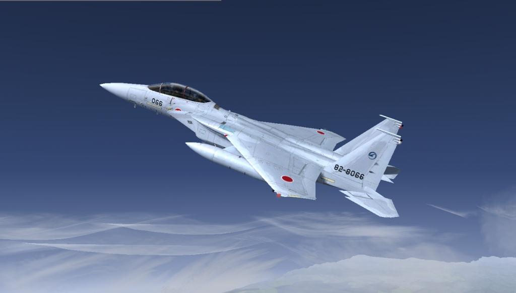 自作3機目 F-15DJ