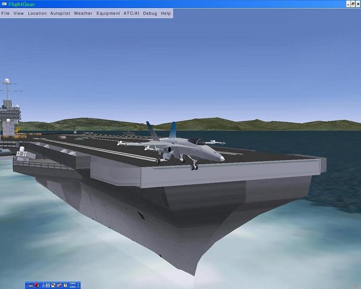 ホーネット空母から発艦