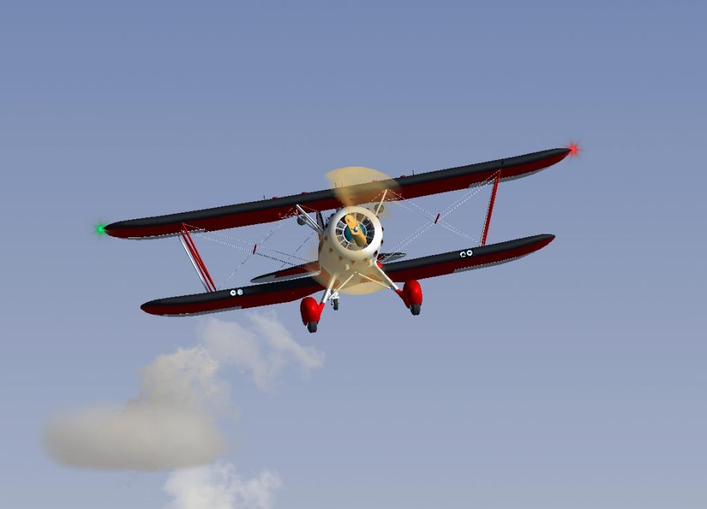 自作4機目 WACO YMF-5D