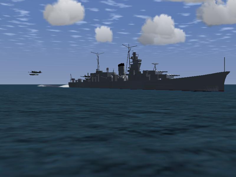フライトシミュレーターなのに軽巡洋艦