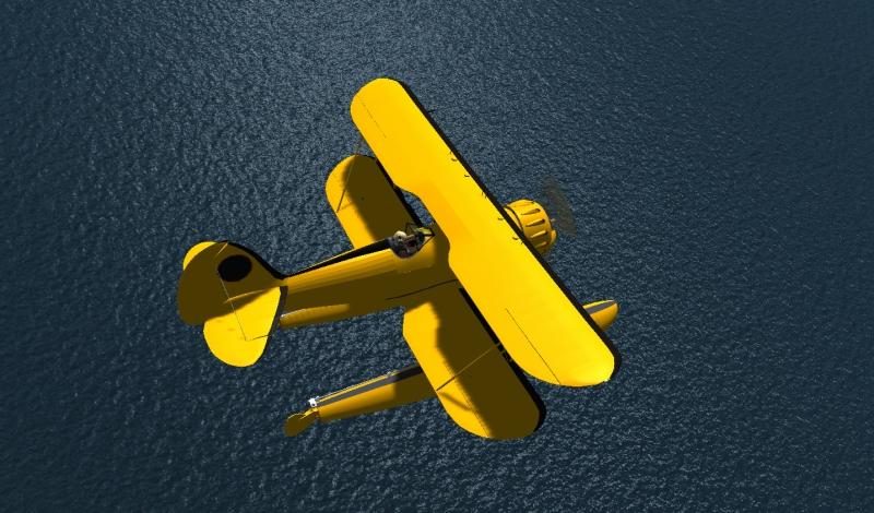 WACO YMF-5DF(水上機仕様)