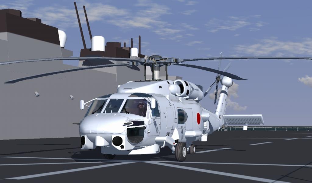 自作7機目 SH-60J(JMSDF)