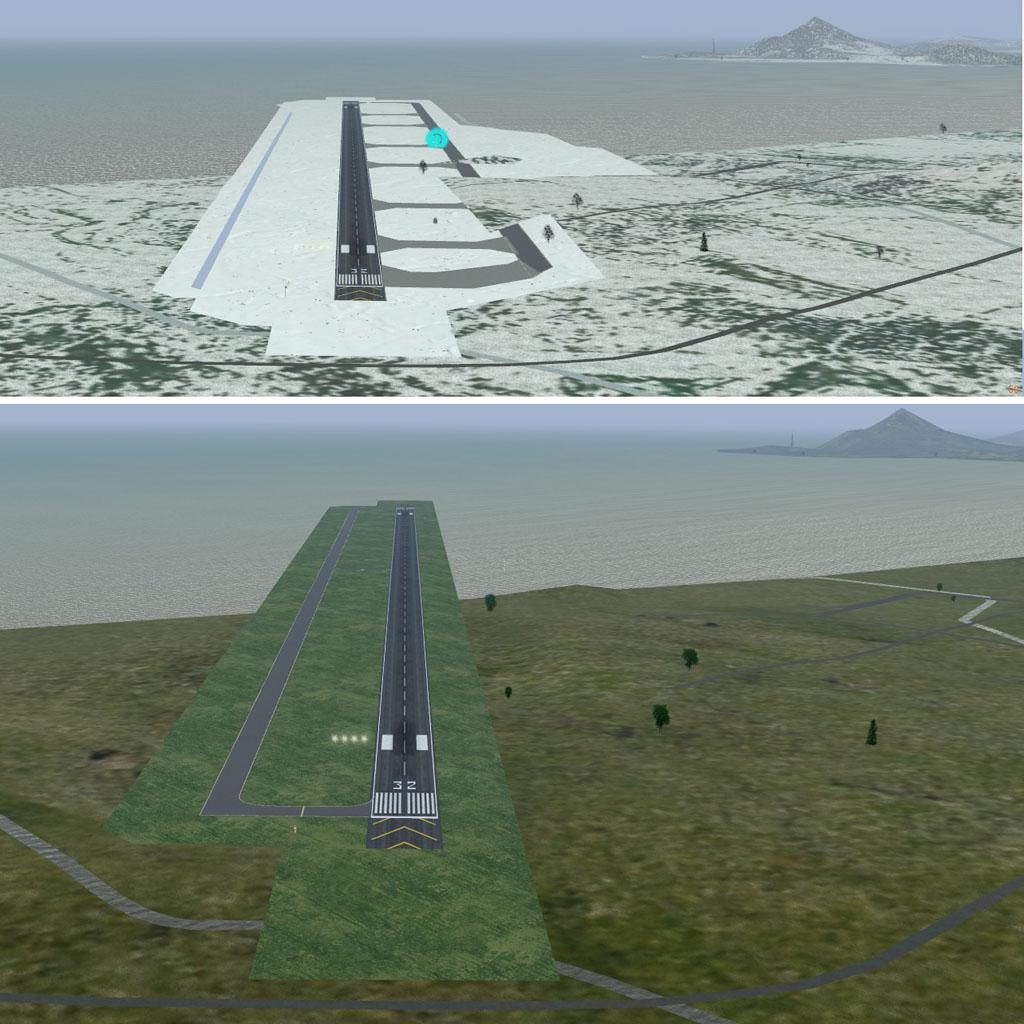 松山空港を改良