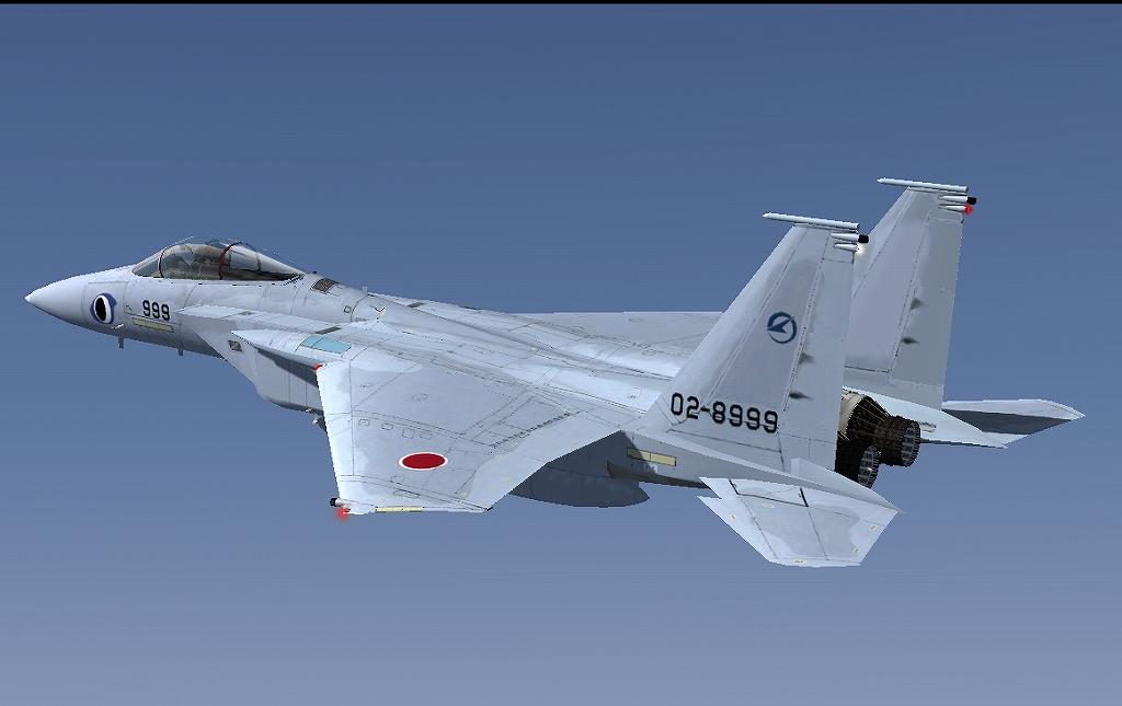 F-15J 特別塗装の機...