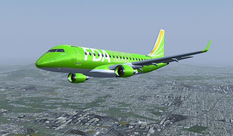 E170/175用 FDA全号機Liveries公開