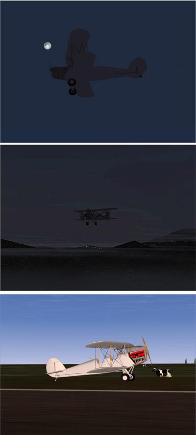 「夜間飛行」の世界